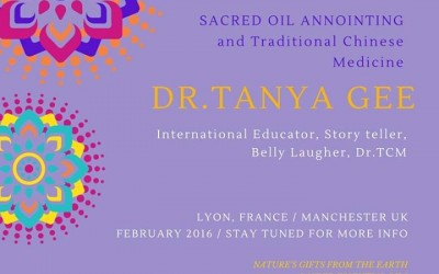 Sacred Oil Anointing & Traditional Chinese Medicine